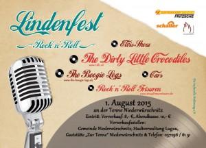 Flyer Lindenfest 2015